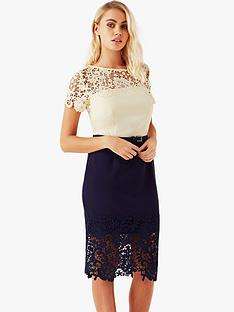 paper-dolls-paper-dolls-lace-trim-and-hem-midi-dress-with-belt