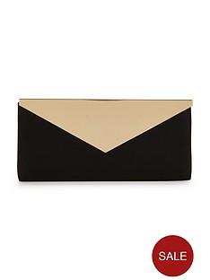 v-by-very-metal-fold-clutch-bag