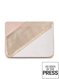 v-by-very-large-panel-soft-clutch-bag