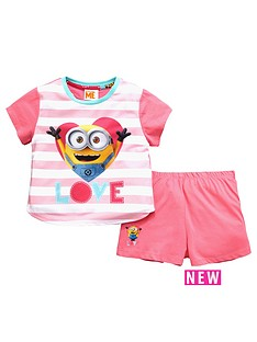 character-minions-girls-short-pyjamas