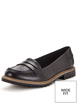 clarks-clarks-wide-fit-griffin-milly-leather-loafer