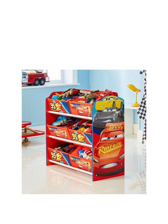 d4aaa623a Disney Cars Lightning McQueen Kids Storage Unit by HelloHome | very ...