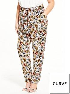 lovedrobe-lovedrobe-floral-printed-paper-bag-trousers