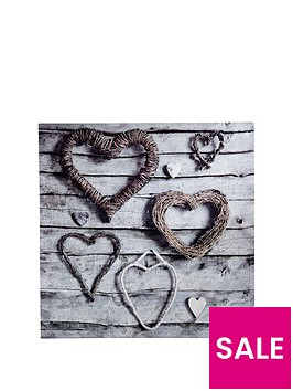 arthouse-rope-hearts-canvas-wall-art