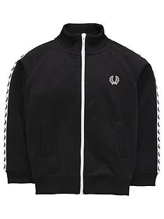 fred-perry-boys-track-jacket