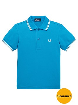 fred-perry-boys-tipped-classic-polo