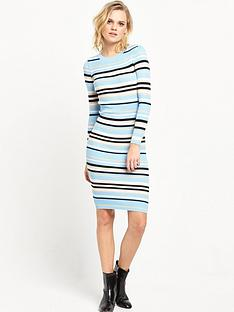 lost-ink-the-summer-stripe-rib-knit-dress