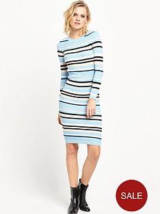 lost-ink-the-summer-stripe-rib-knit-dress