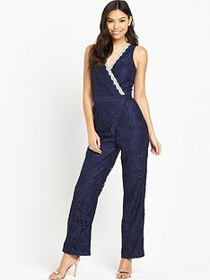 little-mistress-lace-wrap-jumpsuit-navy