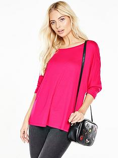 v-by-very-34-sleeve-oversized-top