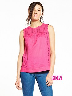 v-by-very-ladder-trim-sleeveless-blouse