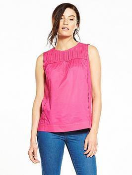 v-by-very-ladder-trim-sleeveless-blouse