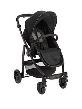 graco-evo-stroller-black-grey