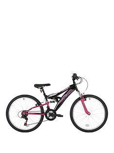 Flite Taser Dual Suspension Girls Bike 24 inch Wheel