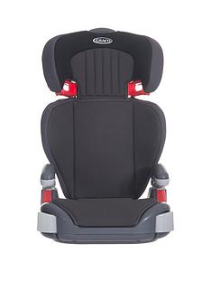Graco Junior Maxi Group 23 Car Seat - Midnight Black