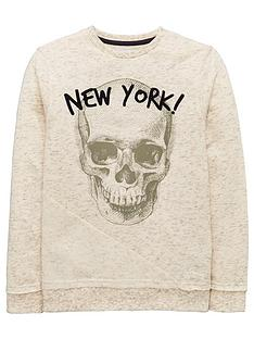 v-by-very-skull-panel-textured-sweat-shirt