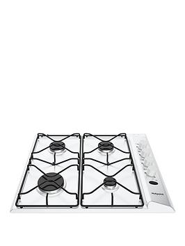 hotpoint-pas642hwh-58cm-wide-built-in-gas-hob-white