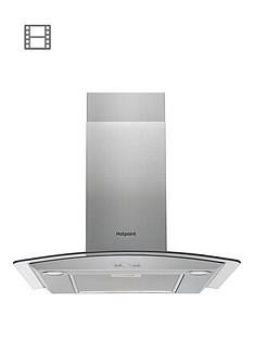 hotpoint-phgc65fabx-60cm-chimney-cooker-hood-black