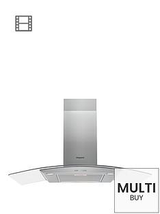 hotpoint-phgc95fabx-90cm-chimney-cooker-hood--nbspstainless-steel