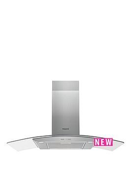 hotpoint-phgc95fabx-90cm-chimney-cooker-hood-black