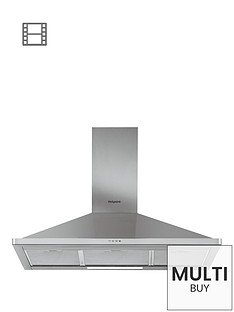 hotpoint-phpn94famx-90cm-chimney-cooker-hood-stainless-steel