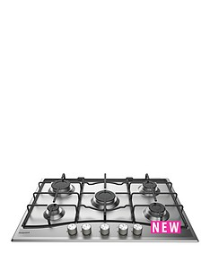 hotpoint-pcn752ixh-75cm-gas-hob-stainless-steel