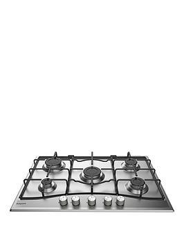 hotpoint-pcn752uixhnbsp75cm-gas-hob-stainless-steel