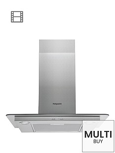 hotpoint-phfg65fabx-60cm-chimney-cooker-hood-stainless-steel
