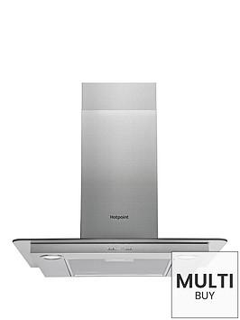 hotpoint-phfg65fabx-60cm-chimney-cooker-hood-stainless-steel