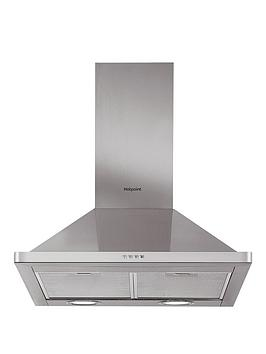 hotpoint-phpn64famx-60cm-chimney-cooker-hood-stainless-steel