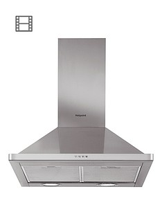 hotpoint-phpn74famx-70cm-chimney-cooker-hood-stainless-steel