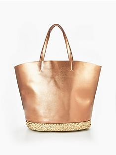 v-by-very-metallic-bucket-beach-bag-rose-goldnbsp