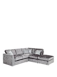 cavendish-shimmer-right-hand-corner-chaise-sofa-with-footstool