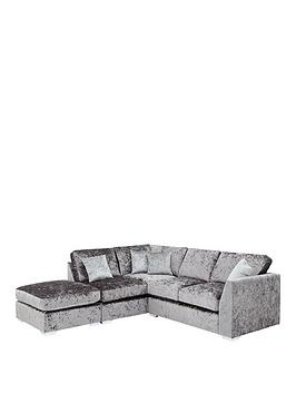 cavendish-shimmer-left-hand-corner-chaise-sofa-with-footstool