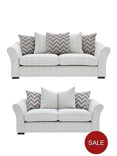 cavendish-chevron-3-seater-2-seaternbspfabric-sofa-set-buy-and-save