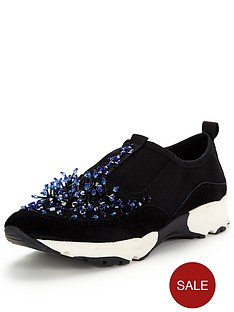 carvela-lola-embellished-trainer