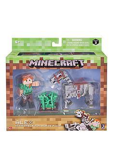 minecraft-minecraft-alex-amp-skeleton-pack