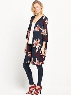 vero-moda-fiji-wrap-over-kimono-navy
