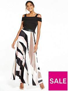 coast-rockafella-pleated-skirt-maxi-dress