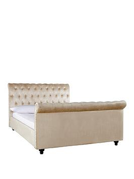 woburn-fabric-scroll-bed-frame-with-mattress-options-buy-and-save