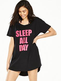 boux-avenue-day-night-slogan-sleep-t-shirt-blackpink