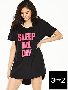 boux-avenue-day-night-slogan-sleep-t-shirt-blackpink