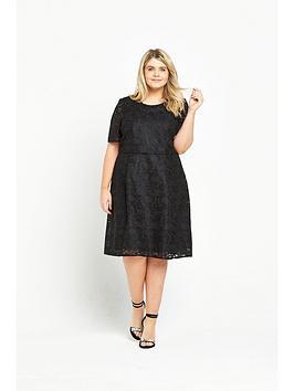 ri-plus-lace-midi-dress-black
