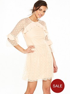 v-by-very-spot-mesh-dress