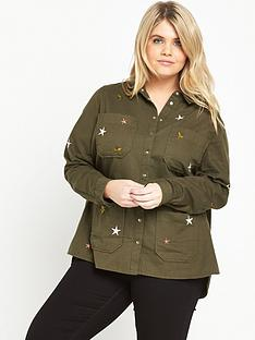 ri-plus-shacket-with-start-detail-khaki