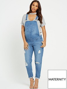 rochelle-humes-maternity-dungarees