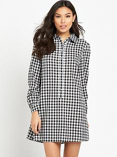 fashion-union-gingham-dress-black