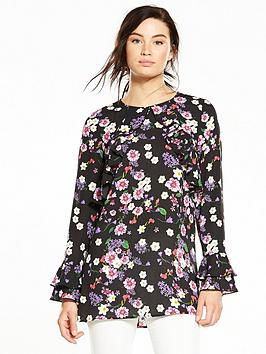 v-by-very-ruffle-detail-floral-tunic