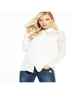 v-by-very-lace-insert-blouse