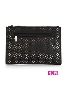 v-by-very-rose-gold-cut-out-pouch-clutch-bag